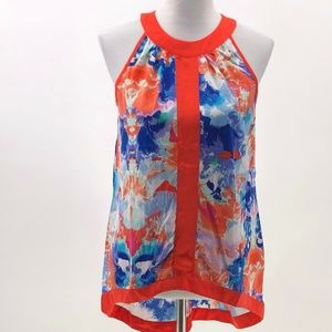 nicole by nicole miller water color top S